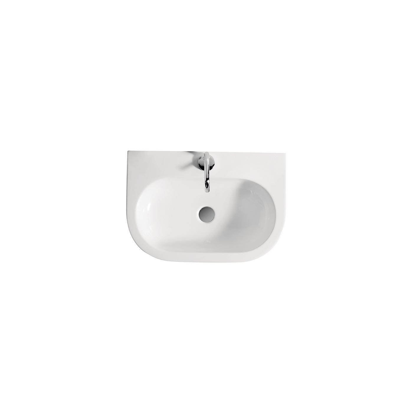 lavabo appoggio 60 cm. Black Bedroom Furniture Sets. Home Design Ideas