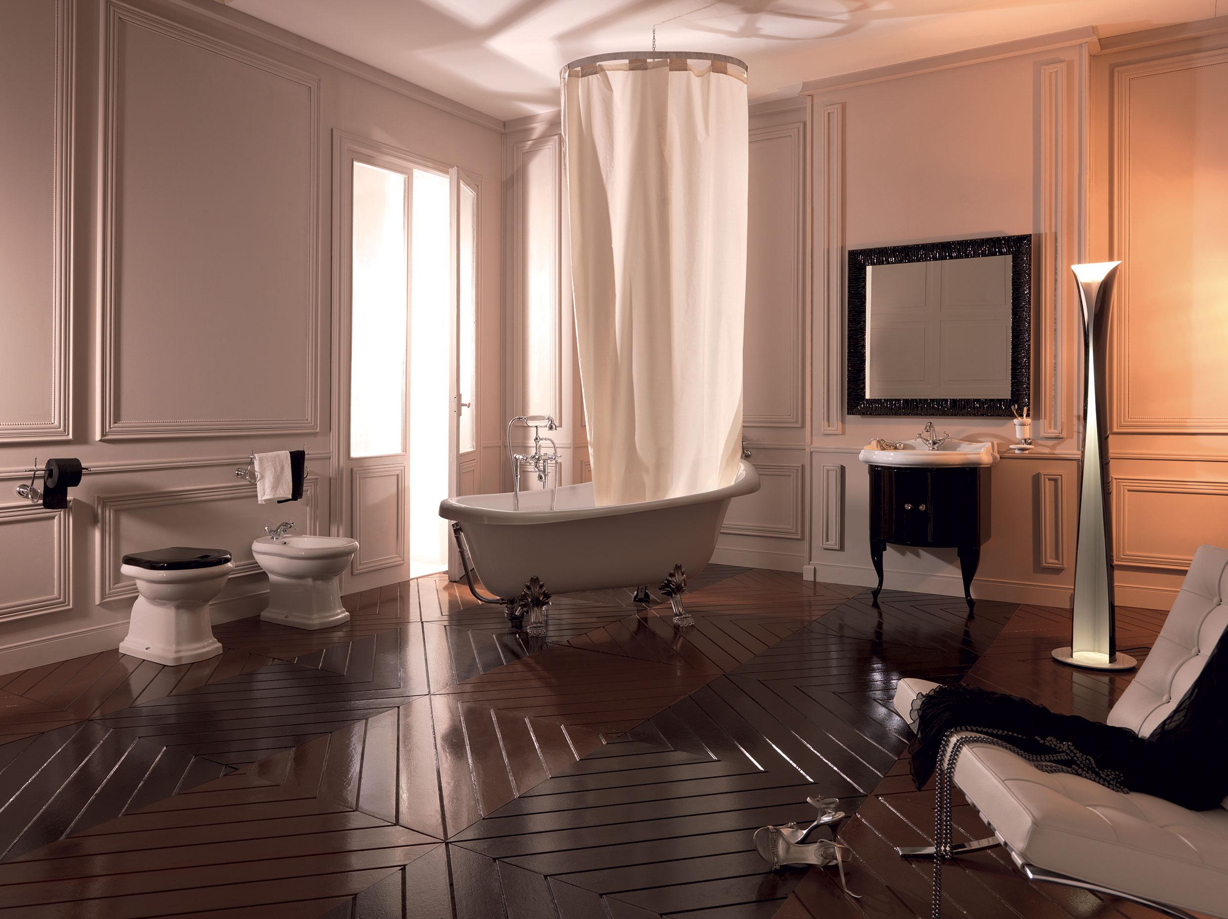 Vasca Da Bagno Kerasan : Vasca da bagno bianca