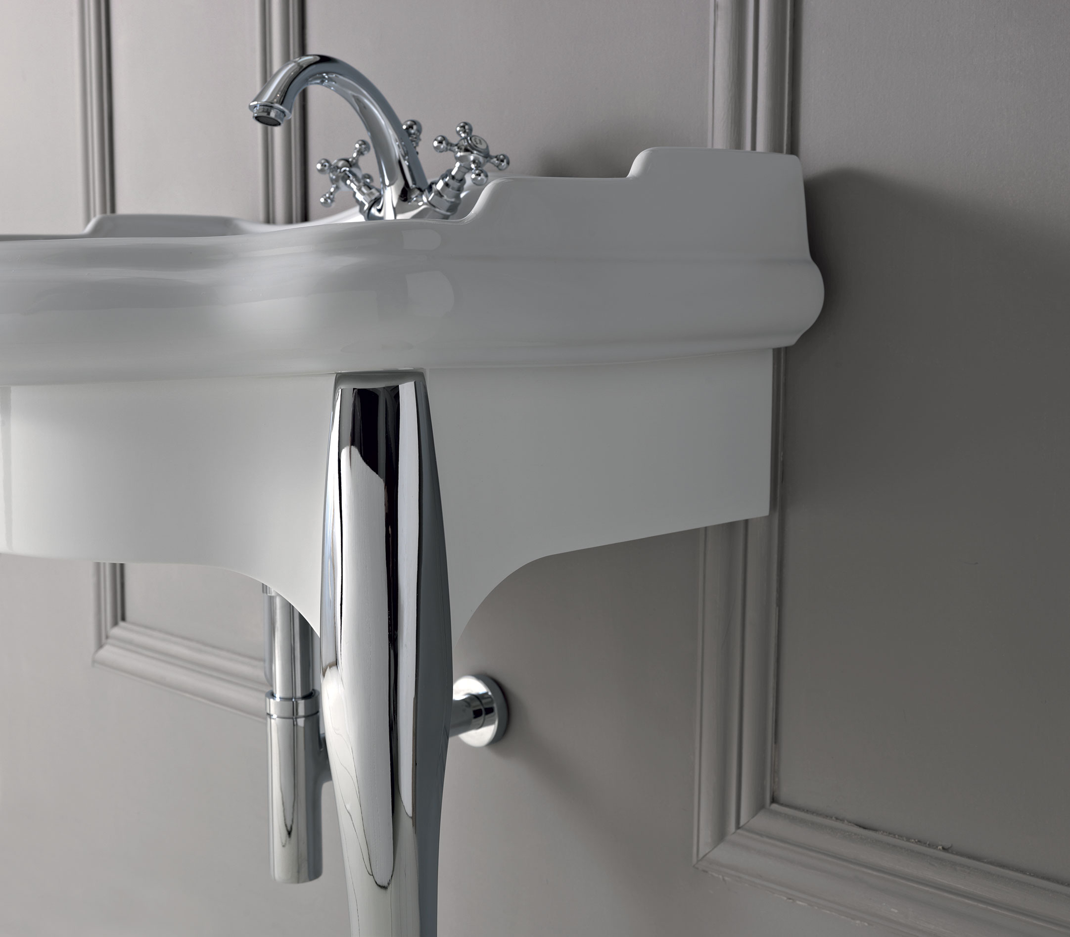 Lavabo a colonna design vintage 73x54 for Lavabo a colonna