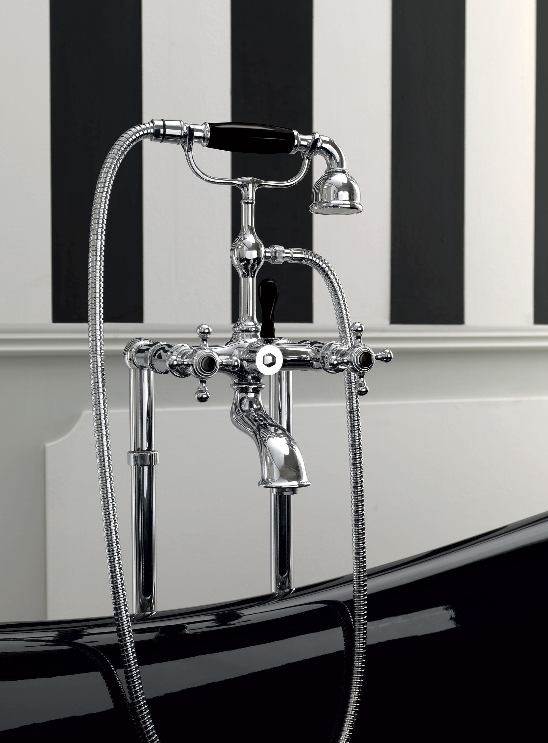 Vasca nera 77x170 - Rubinetteria bagno nera ...